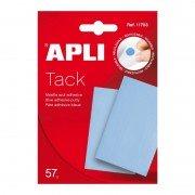 Masilla adhesiva apli tack/ 57g/ azul