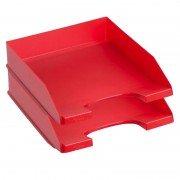 Bandejas apilables archivo 2000 740 rj para hojas/ 2 unidades/ roja