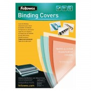 Portadas de pvc fellowes 5375901/ a4/ 180 micras/ 100 unidades/ transparente