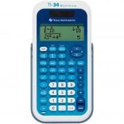 Calculadora científica texas instruments ti-34 multiview/ azul