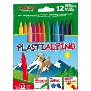 Ceras plásticas alpino plastialpino/ 12 unidades
