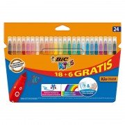 Rotuladores bic kids couleur 8418033/ 24 unidades