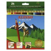 Lápices de colores alpino al010658/ 24 unidades