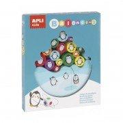 Juego de equilibrio pingüinos apli kids 17203/ 16 piezas
