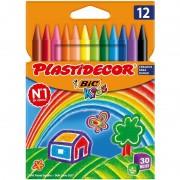Ceras plásticas bic kids plastidecor 875770/ 12 unidades