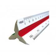 Regla escalímetro grafoplás arda 41817070/ 30cm/ blanca