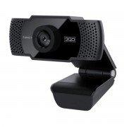 3go view webcam hd 720p usb 2.0 - microfono integrado - reduccion de ruido y eco - color negro