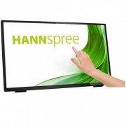 Hannspree monitor led 23.8 pulgadas 1080p fullhd - pantalla tactil 7h - 10 puntos de contacto - 16:9 - angulo de vision 178º -