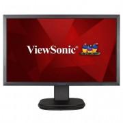 Viewsonic monitor led 24 pulgadas full hd 1080p 75 hz - respuesta 5ms - angulo de vision 178º - altavoces 4w - 16:9 - usb
